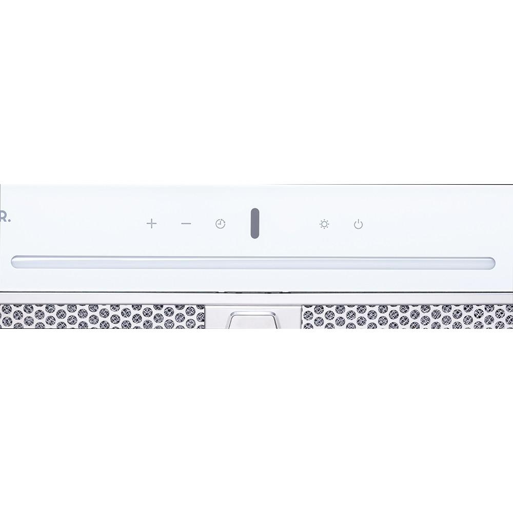 Вытяжка полновстраиваемая WEILOR PBSR 52651 GLASS WH 1300 LED Strip