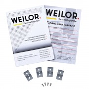 Поверхность стеклокерамическая Domino WEILOR WHC 332 BLACK