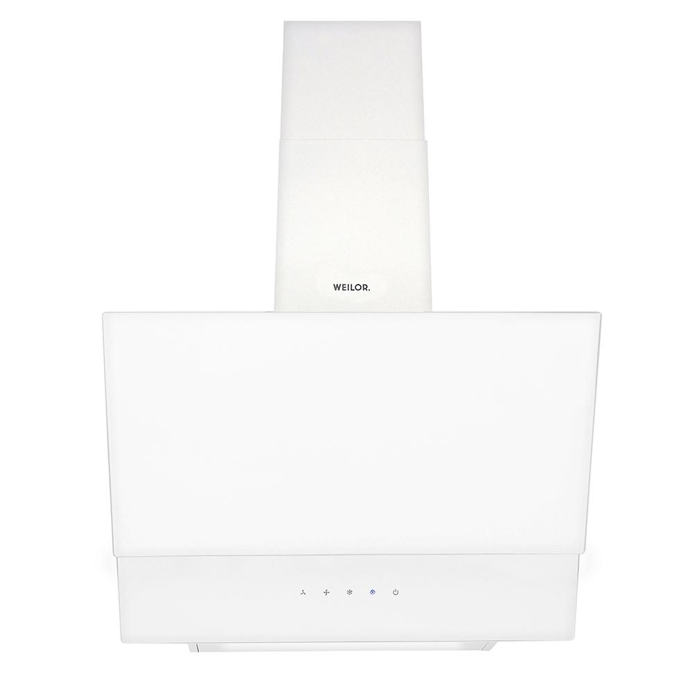Вытяжка декоративная наклонная WEILOR PDS 6230 WH 1000 LED Strip