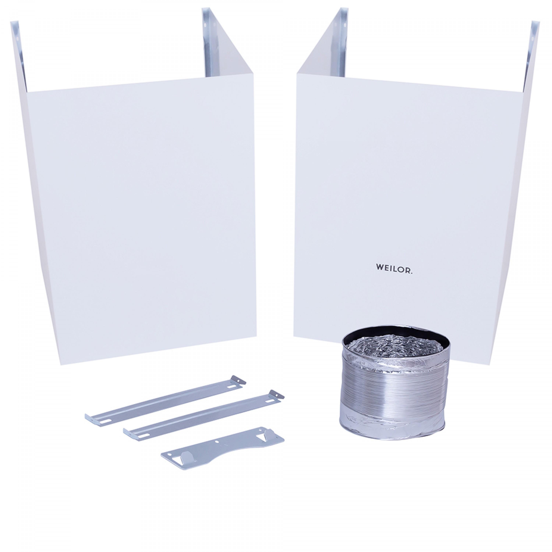 Вытяжка декоративная Т-образная WEILOR Slimline WP 6230 WH 1000 LED