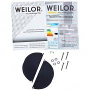 Вытяжка полновстраиваемая WEILOR PBS 52650 GLASS WH 1250 LED Strip
