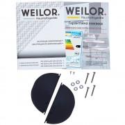 Вытяжка полновстраиваемая WEILOR PBS 52300 GLASS BG 1000 LED Strip