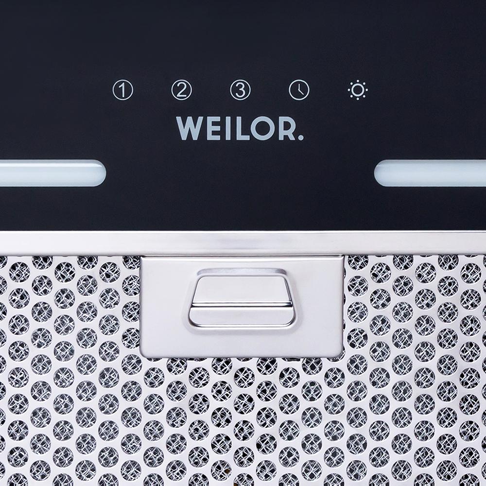 Вытяжка полновстраиваемая WEILOR PBS 52300 GLASS BL 1000 LED Strip