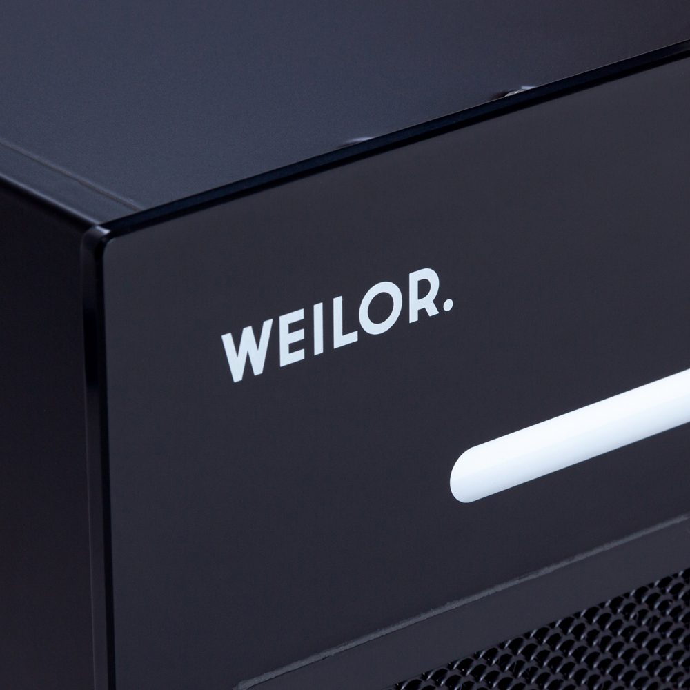Вытяжка полновстраиваемая WEILOR PBSR 52302 GLASS FBL 1100 LED Strip